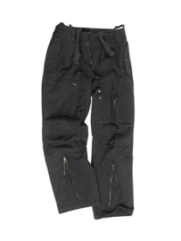 Moleskin broek zwart - maat Medium of Large