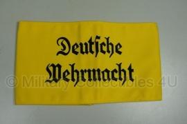 Armband Deutsche Wehrmacht - Geel
