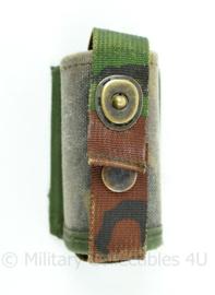 KL woodland MOLLE tasje voor 40mm granaten - 9 x 4 x 5 cm - origineel