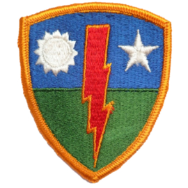 US Army 75th Infantry Regiment Rangers patch - Vietnam oorlog - 7,5 x 6 cm - origineel