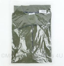 Nederlands Defensie rolkraag hemd groen Hemd Rolkraag M/Rits Mnsn - nieuw in verpakking - maat 9010/1525 - origineel