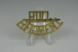 Brits leger Hull Regiment insigne - enkel - origineel