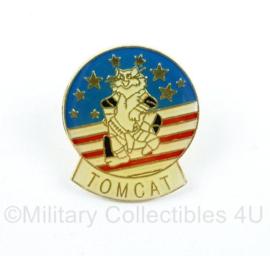 USAF US Air Force TOMCAT speld  - 2,5 x 2 cm  -origineel