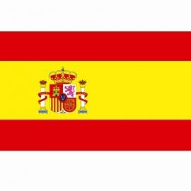 Vlag Spanje - Polyester -  1 x 1,5 meter