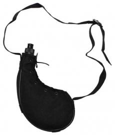 Bota antiek model veldfles 0,75 liter - zwart