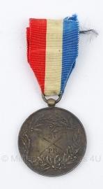 Franse antieke schietprijs medaille - Origineel