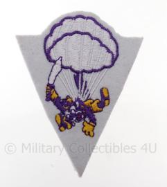 US 515th Parachute Regiment embleem -  afmeting 7 x 9 cm - replica WO2