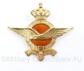 KLU Luchtmacht GLT gala tenue pet insigne - pinnen missen -7 x 6,5 cm - origineel