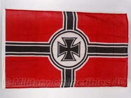 Reichskriegsflagge Oorlogsvlag  katoen - model zonder swastika - 90 x 150 cm