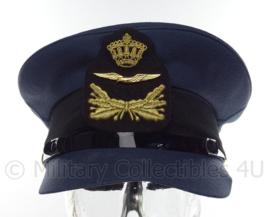 KLU Luchtmacht platte pet onderofficier - Hassing B.V. - maat 56 - origineel
