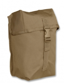Koppeltas multi purpose Large - Molle draagsysteem -  13 x 9 x 21 cm - Coyote