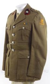 """KL Koninklijke Landmacht Officiers DT jasje """"luchtdoel artillerie"""" - rang """"Eerste Luitenant"""" - 1962 - maat M - origineel"""