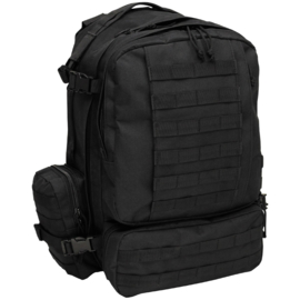 Tactical Modular backpack 45 liter BLACK