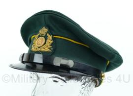 Platte pet Nederlandse leger Groen ZELDZAAM - Maat 55 - Origineel