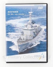 KM Koninklijke Marine DVD - Midterm Hr Ms van Amstel - origineel