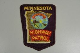 Minnesota Highway Patrol patch - origineel
