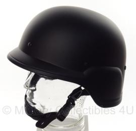 MICH helm Zwart Lightweight
