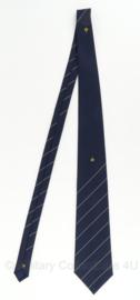 Nederlandse politie stropdas met logo's - ca. 135 cm - origineel