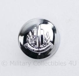 Gemeentepolitie knoop 14 MM zilver -  origineel
