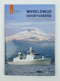 KM Koninklijke Marine Wereldwijd voortvarend Marine 525 jaar boek - origineel