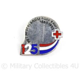 Speld van het Nederlandse Rode Kruis 1867-1992 - 2,5 x 2,5 cm - origineel