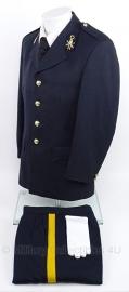 Ceremonieel Tenue jas MET broek , handschoenen en stropdas Korps rijdende Artillerie - maat 50 - origineel