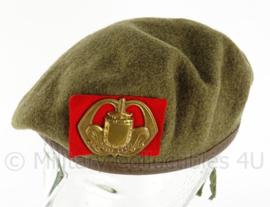 MVO baret infanterie - vroeg model jaren 50 - maat 56 - origineel