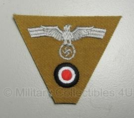 Heer M43 pet - adelaar en kokarde driehoek Afrika Korps