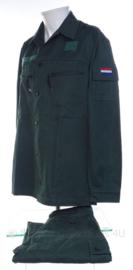 KL Koninklijke Landmacht burger personeel basis jas en basis broek en T shirt  - maat 8000/9500 - origineel