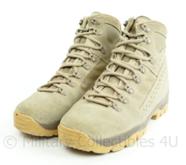 KL Nederlandse leger Meindl Desert legerschoenen - zeer licht gebruikt - maat 270M = 43M - origineel