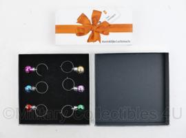 Koninklijke Luchtmacht geschenkverpakking mini kerstballen -  16 x 16 x 3 cm. - origineel