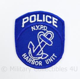 NYPD Police Harbor unit patch New York - 8,5 x 7 cm - origineel