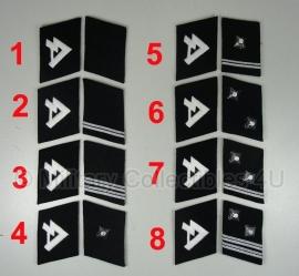 SS kraagspiegels - vrijwilligers - Horst Wessel  - manschappen