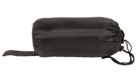 Commando slaapzak met tas - Zwart