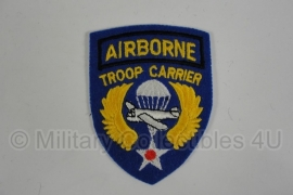 WWII US Airborne Troop Carrier patch - 8 x 6 cm. - wool
