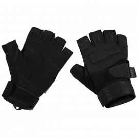 "Tactical gloves - zonder vingers - ""Protect"" zwart"