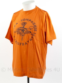 Defensie T-shirt Kfor-2 'niet zeiken maar dienen' Painfbat GFPI  - maat L - origineel
