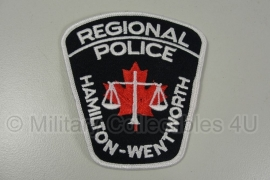 Hamilton Wentworth Police patch - origineel