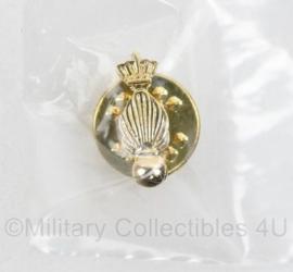 Kmar Koninklijke Marechaussee goudkleurige speld - 14 mm -  origineel