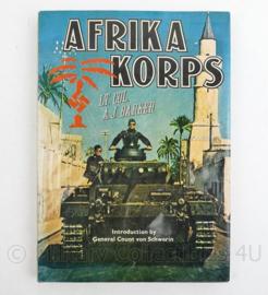Naslagwerk over Wo2 AFRIKAKORPS Lt Kol AJ Barker
