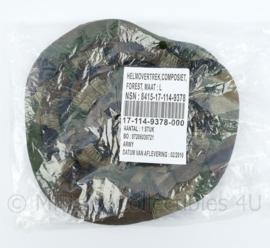 Korps Mariniers Forest camo helmovertrek - NIEUW in de verpakking - zeldzaam - maat L - origineel