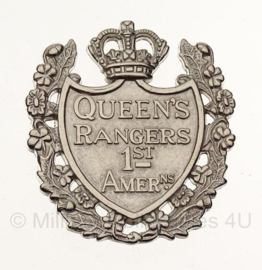 WW2  Queen's York Rangers (1st American Regiment) (RCAC) cap badge in geschenk- of displaydoosje