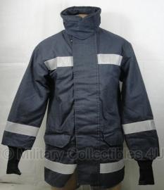 Brandweer donkerblauwe LOSSE jas  - ook voor groepen - origineel