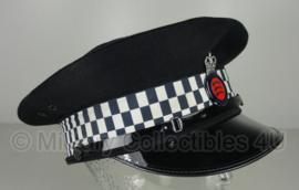 Britse politie pet met insigne - Essex Police - maat 59 of 60 - origineel