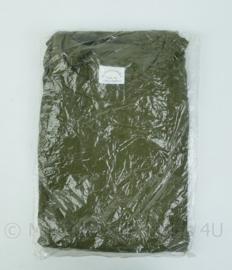 Nederlands leger groen shirt LANGE mouw - merk Dutraco - maat XL - nieuw in verpakking ! - origineel