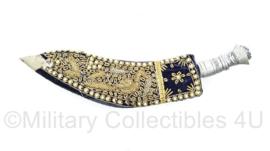 Kurki mes met uitbundig versierde schede - 32 cm - origineel