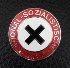 NSDAP Abzeichen / nsdap speld replica zonder swastika RZM M1/129