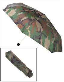 Paraplu woodland inschuifbaar Compact