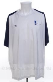 KL Defensie sport shirt korte mouw - merk Li-ning - maat  XL of 2XL - origineel