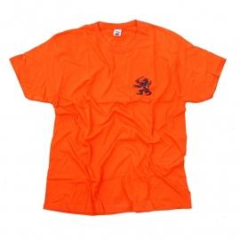 T shirt oranje - met Nederlandse leeuw - nieuw gemaakt